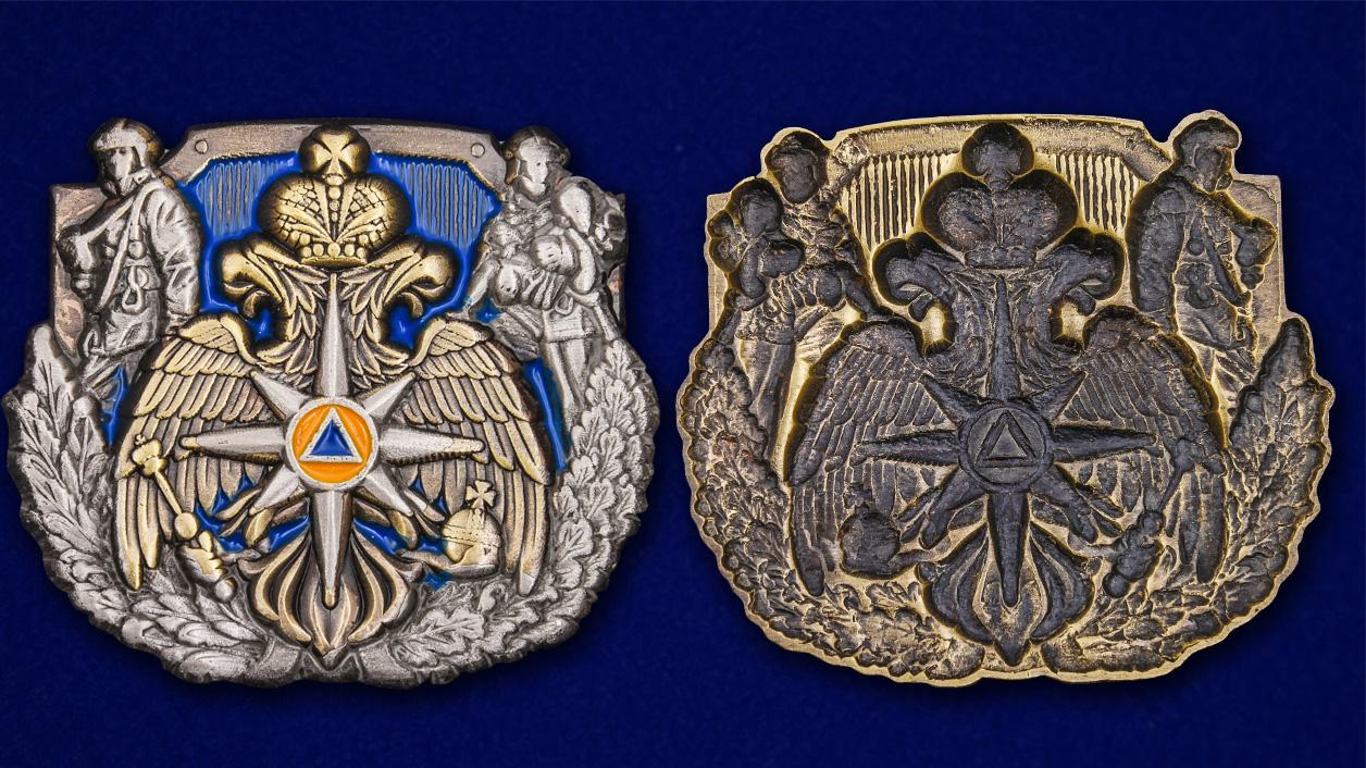 Декоративный жетон МЧС из металла