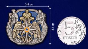 Декоративный жетон МЧС - размер