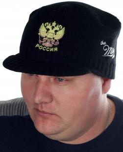 Демисезонная кепка-шапка Miller с нашивкой Герб России - заказать с доставкой