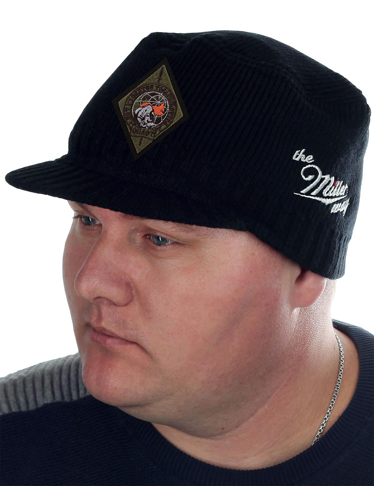 Демисезонная кепка-шапка Miller с нашивкой Оплот - купить выгодно