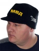 Демисезонная шапка-кепка МВД от бренда Miller
