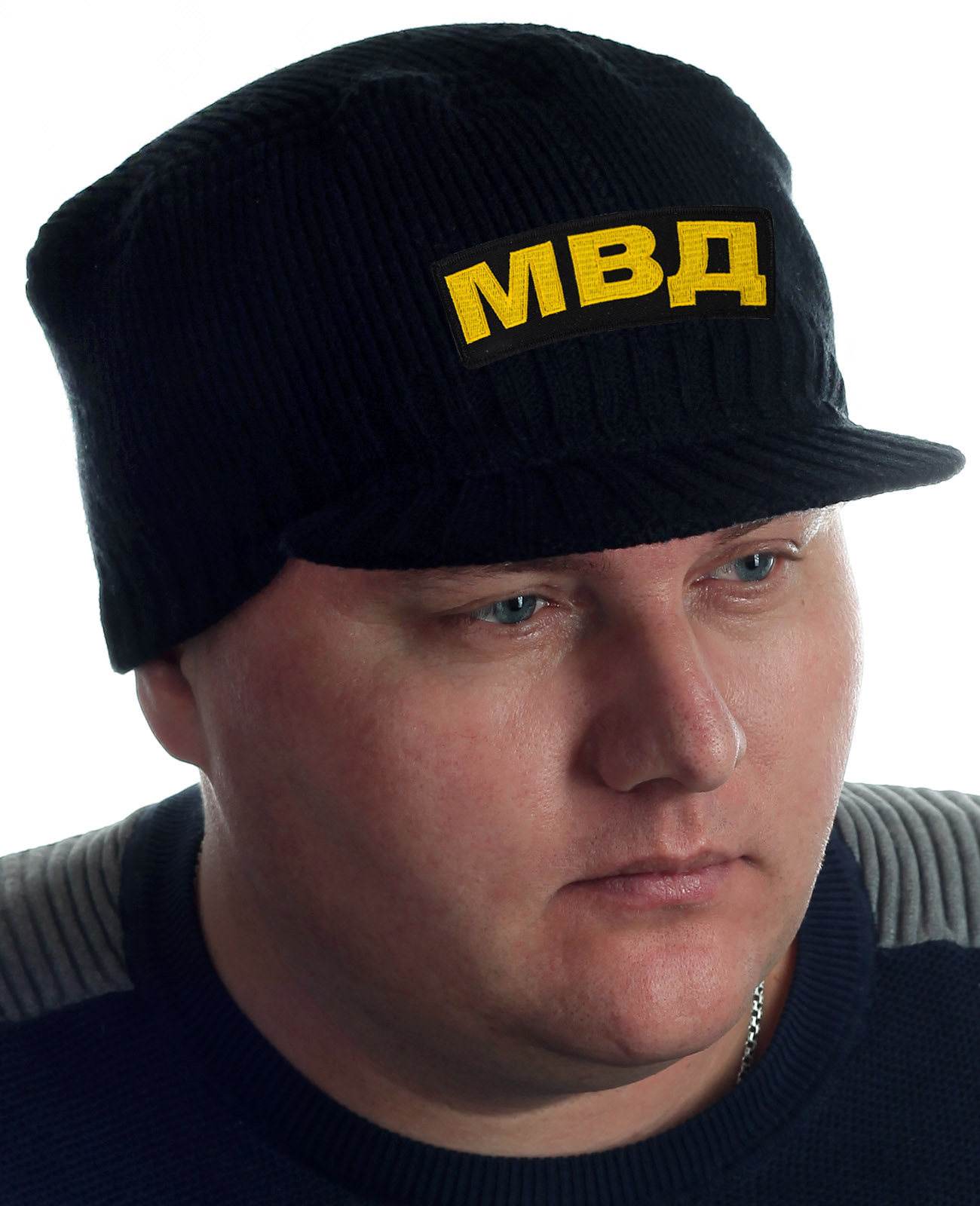Купить демисезонную шапку-кепку МВД от бренда Miller с доставкой в ваш город