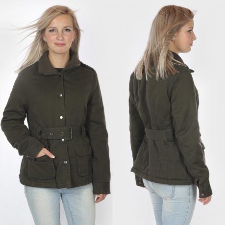 Демисезонная женская куртка-парка.