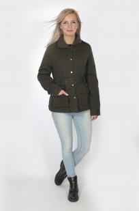 Демисезонная женская куртка-парка доступна для заказа в Военпро