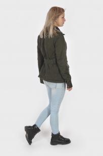 Демисезонная женская куртка-парка с удобной доставкой