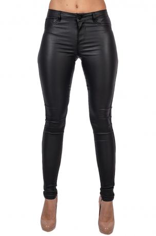 Дерзкие черные джеггинсы от бренда Vila®