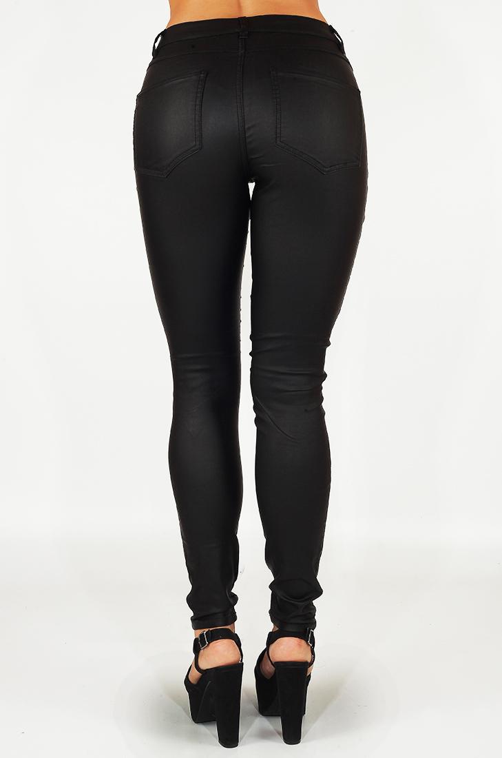 Дерзкие черные джеггинсы от бренда Vila® (Дания). И ты самая сексуальная в любом ночном клубе!