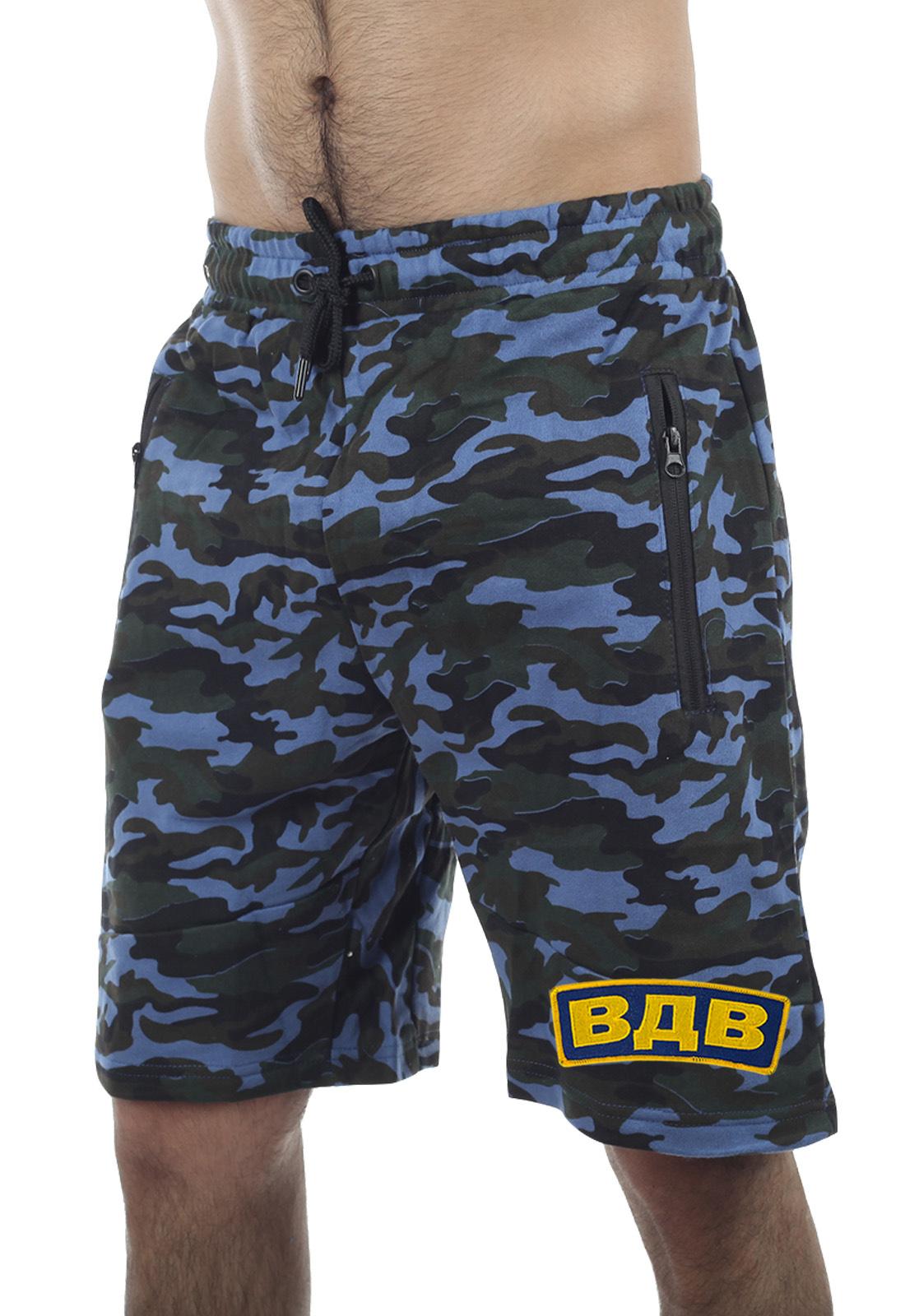 Купить в интернет магазине Военпро мужские шорты New York Athletics с нашивкой ВДВ