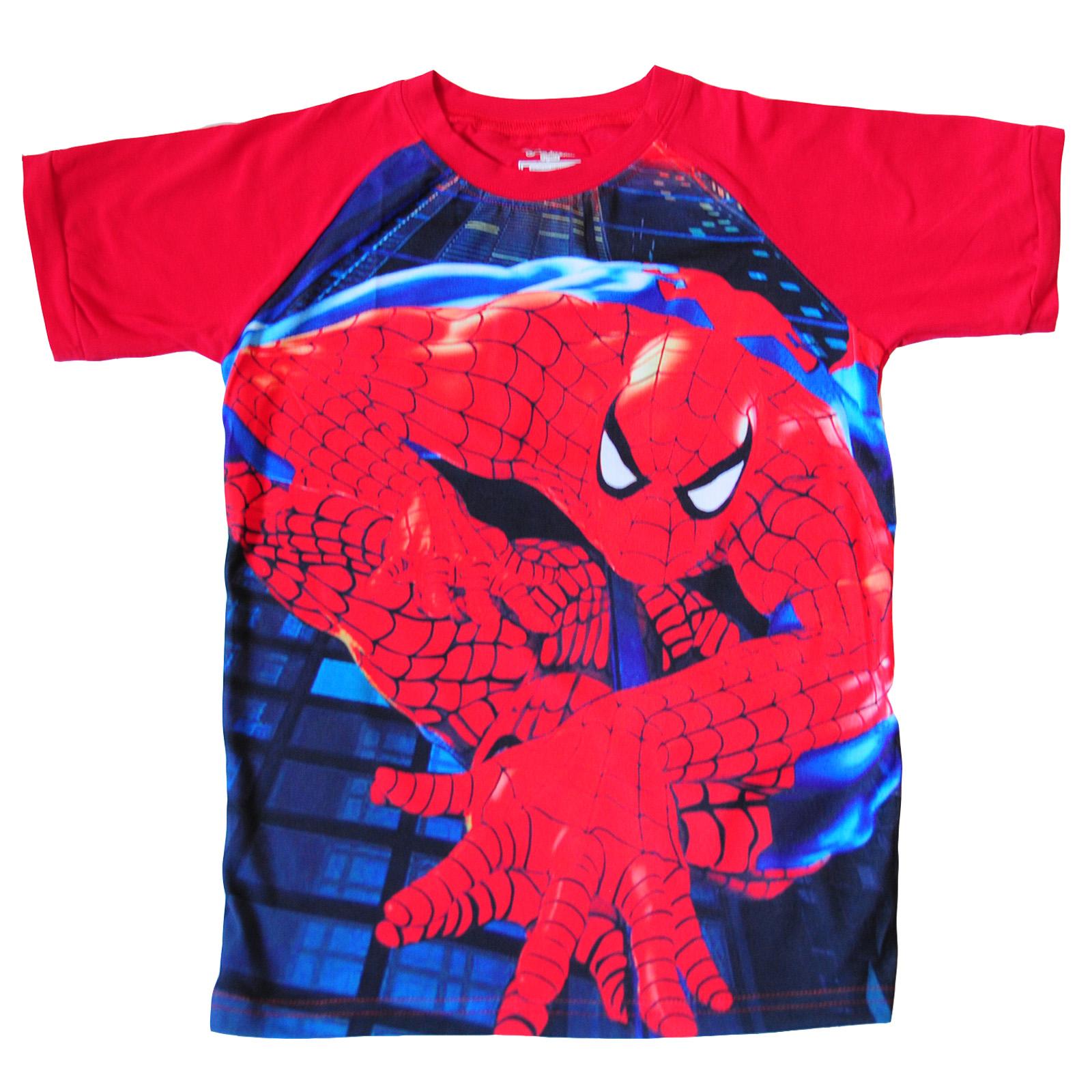 Футболка Человек-паук для мальчика