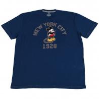 Детская футболка Disney Store с Микки-Маусом. Яркий цвет, 100% хлопок