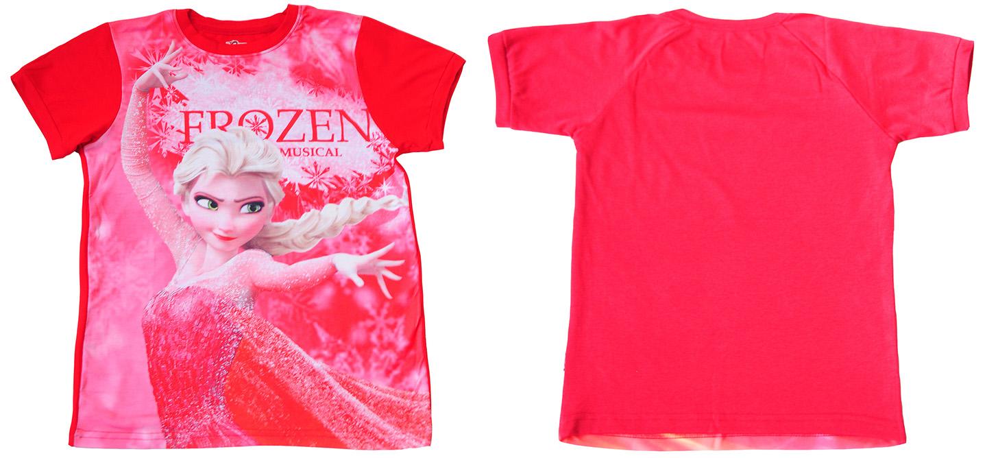 """Детская футболка """"Frozen Musical"""" для девочки с доставкой"""