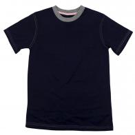 Детская футболка однотонная. 100% хлопок, мягкая ткань