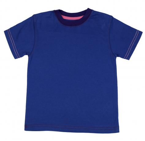 Детская футболка синего цвета