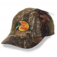 Детская камуфляжная кепка Bass Pro Shops – маскировочная модель «как у папы» для юных рыбаков