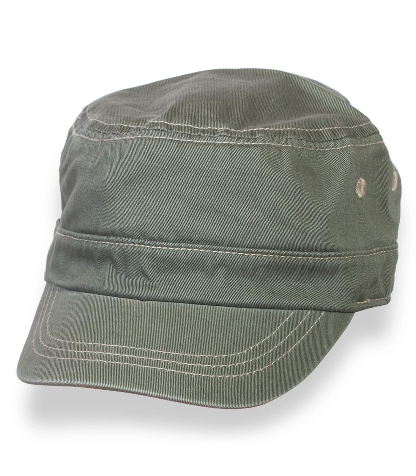 Детская кепка-немка цвета хаки