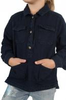 Модная детская рубашка с карманами