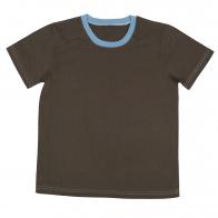 Детская спортивная футболка. 100% натуральная ткань