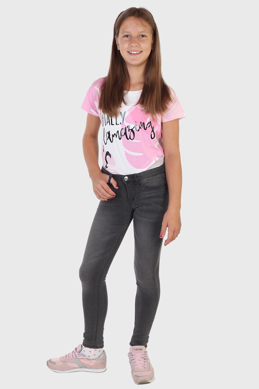 Купить в интернет магазине джинсы скинни для девочки