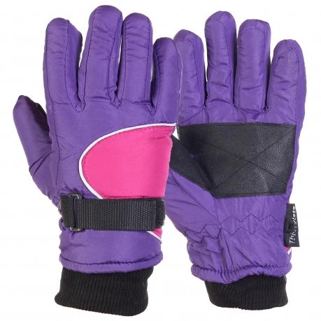 Зимние детские перчатки на тинсулейте