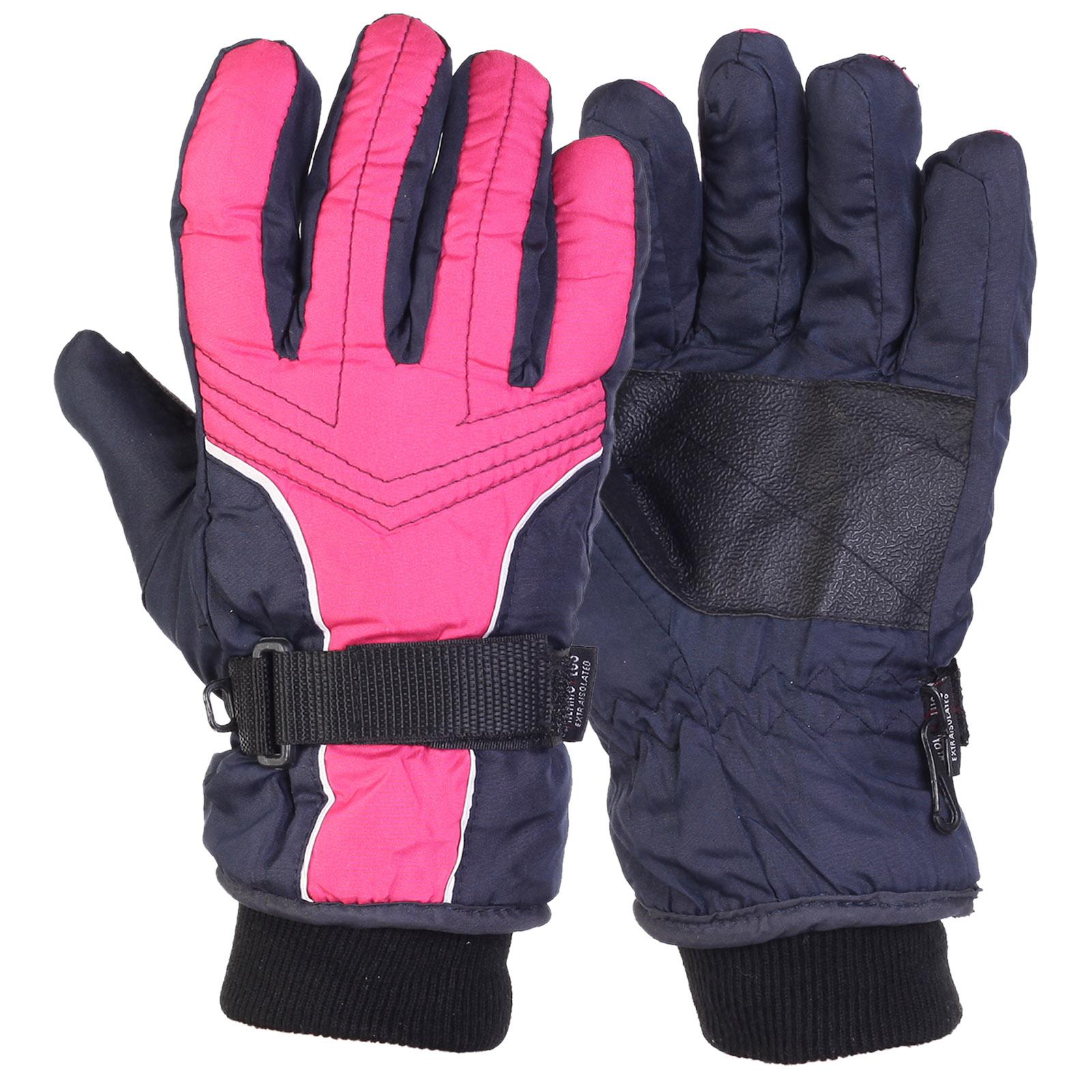 Горнолыжные детские перчатки Termo Plus