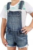 Джинсовые детские шорты-комбинезон