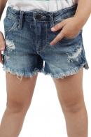 Брендовые детские шорты Denim для девочки