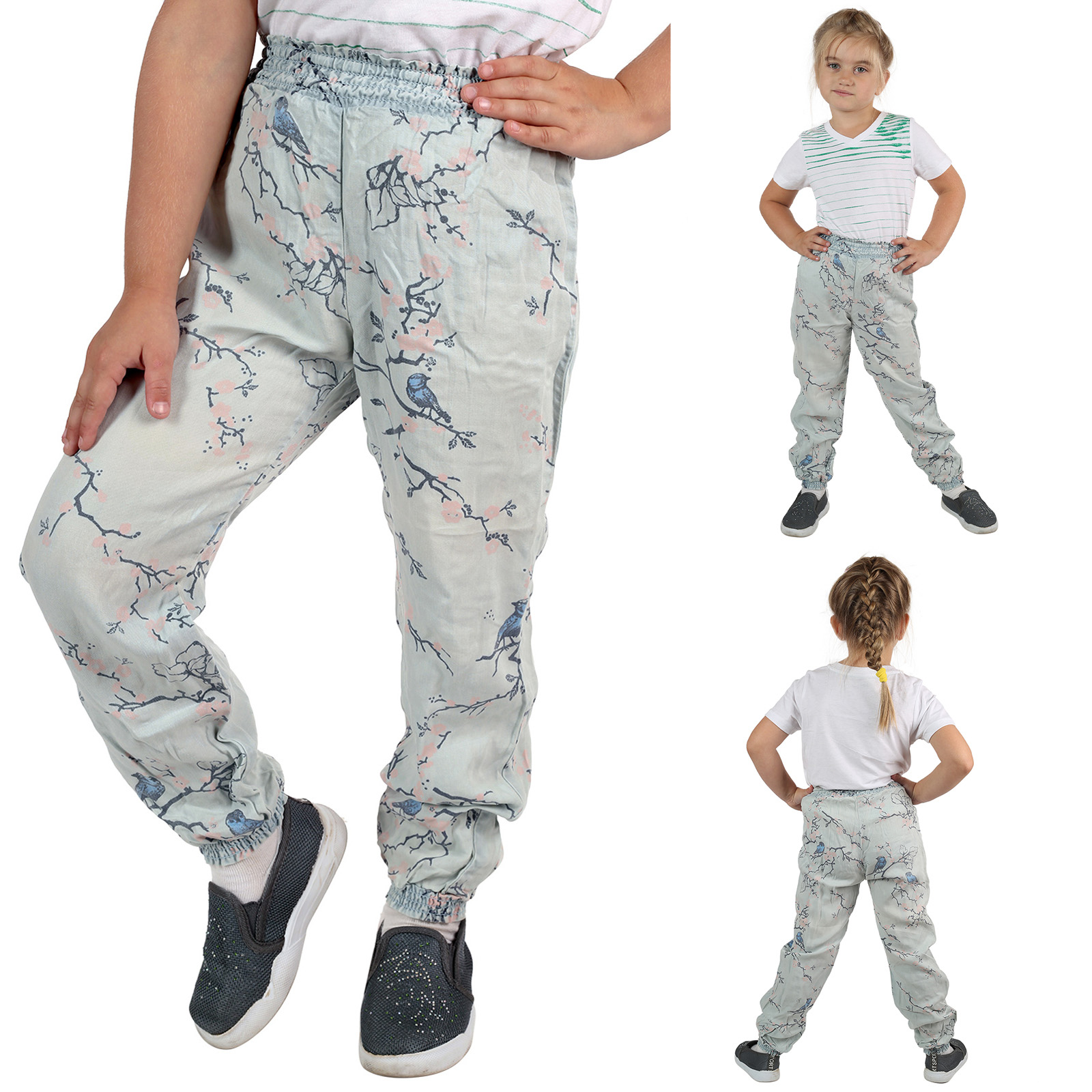 Детские штаны алладины для девочек