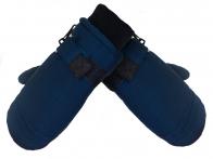 Детские синие варежки Thermo Plus