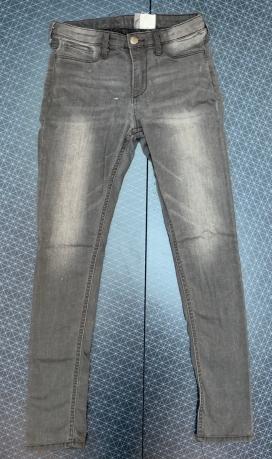 Детские темные джинсы