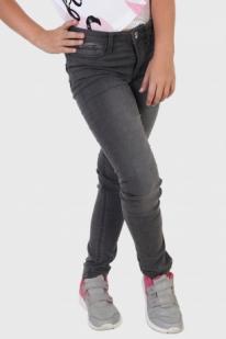 Детские темные джинсы скинни