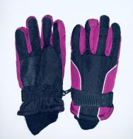 Детские яркие перчатки для зимы
