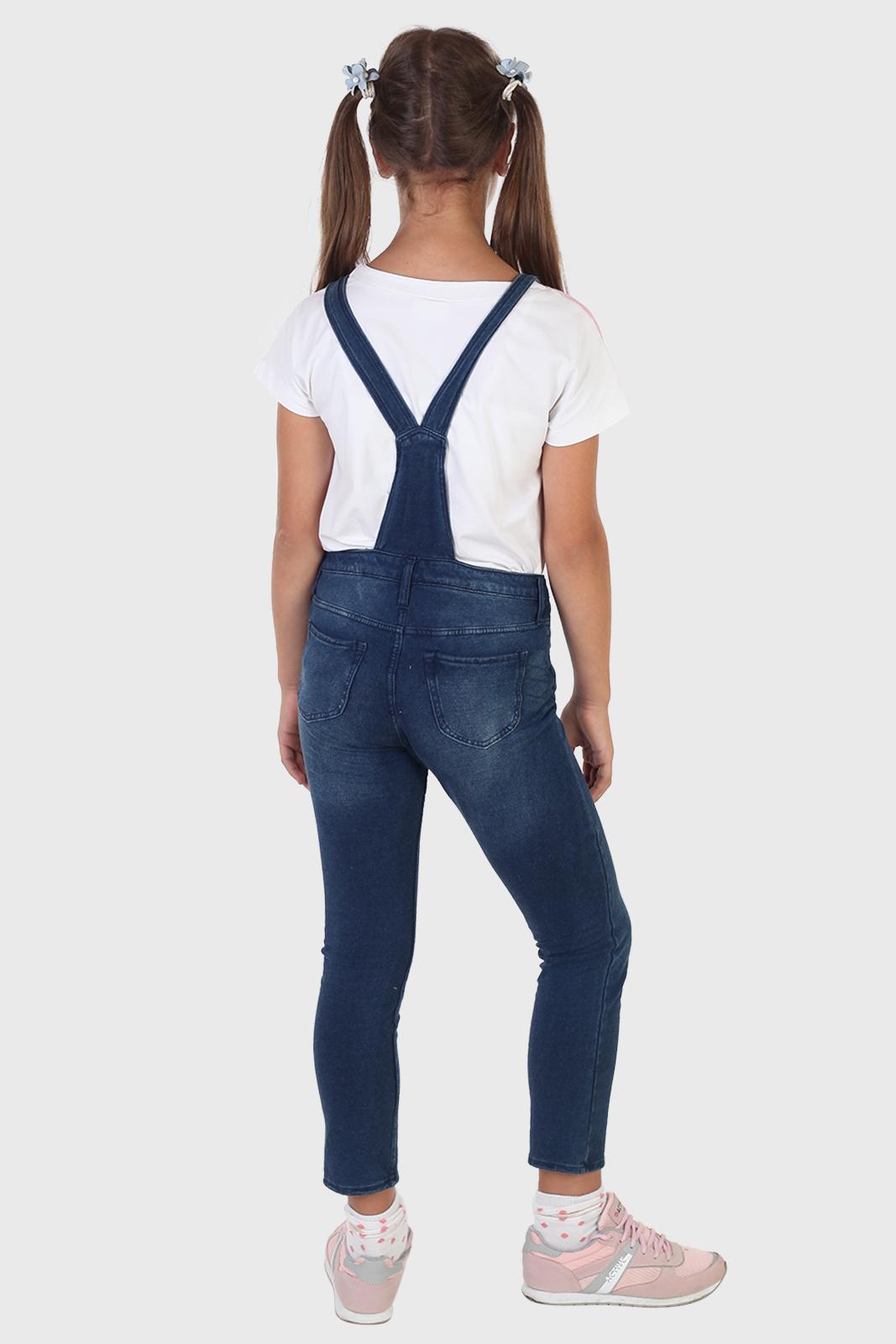 Заказать в интернет магазине детский джинсовый комбинезон с доставкой