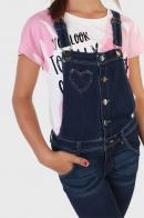 Детский джинсовый комбинезон для девочки