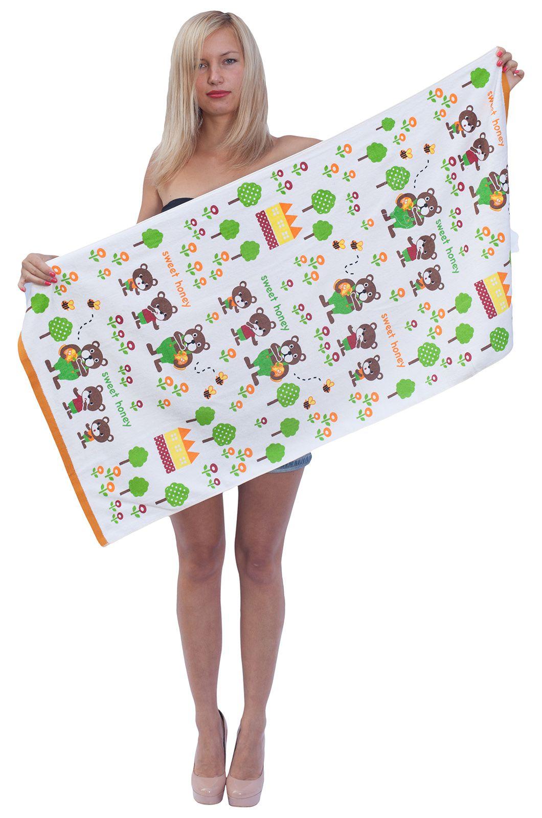 Детское пляжное полотенце - купить онлайн в интернет-магазине
