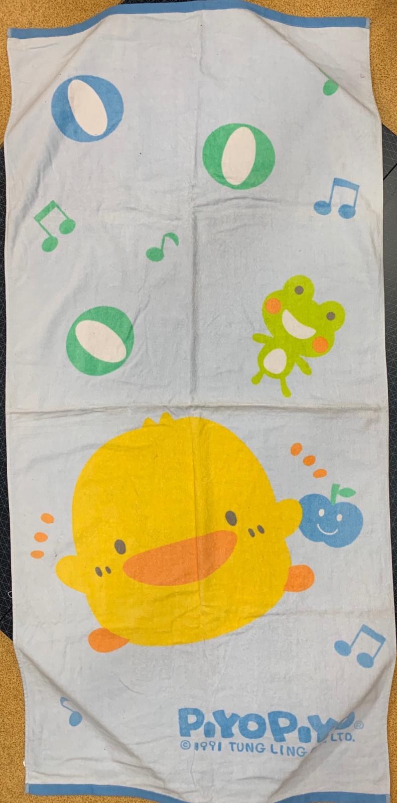 Детское полотенце с уточкой