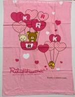 Детское розовое полотенце Rilarruma