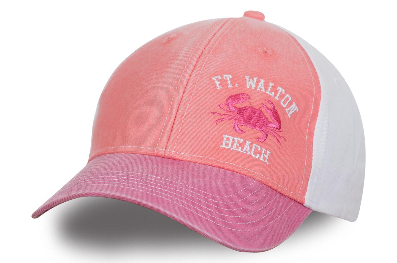 Девчачья кепка для пляжа | Купить пляжную кепку недорого