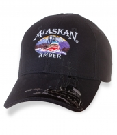 Дизайнерская мужская бейсболка с вышивкой ALASKAN.