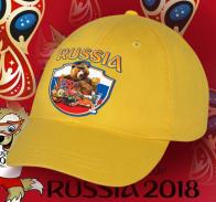 Дизайнерская бейсболка РОССИЯ.