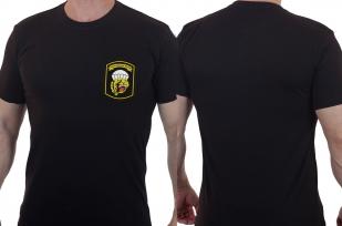 Дизайнерская армейская футболка с вышитым шевроном ВДВ 83 ОДШБр - купить в подарок
