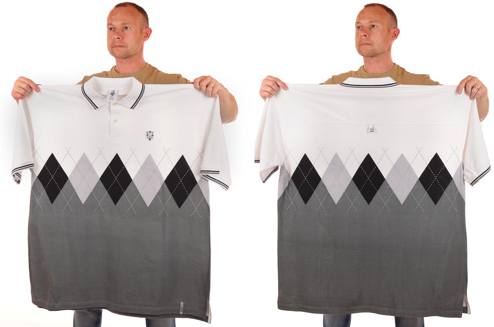 Дизайнерская футболка поло от BARE FOX (США) - общий вид