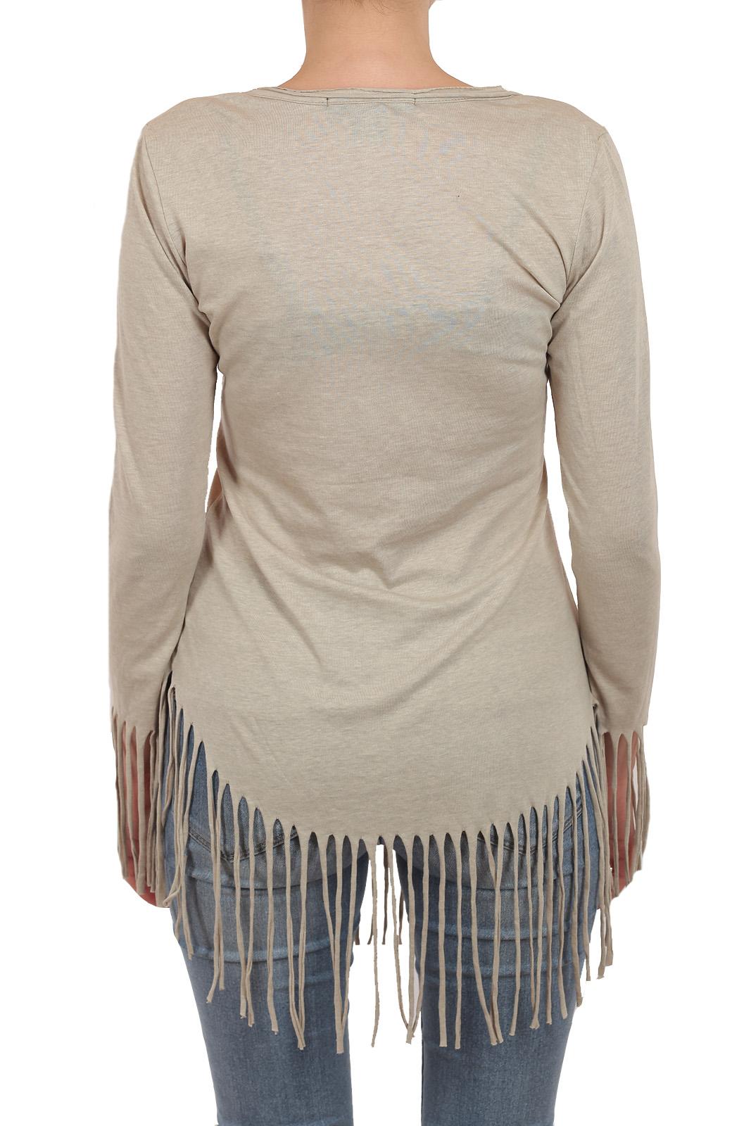 Свободный стиль ХИППИ! Только у нас дизайнерская кофта туника цвета «НЮ» из лимитированной коллекции Rock and Roll Cowgirl