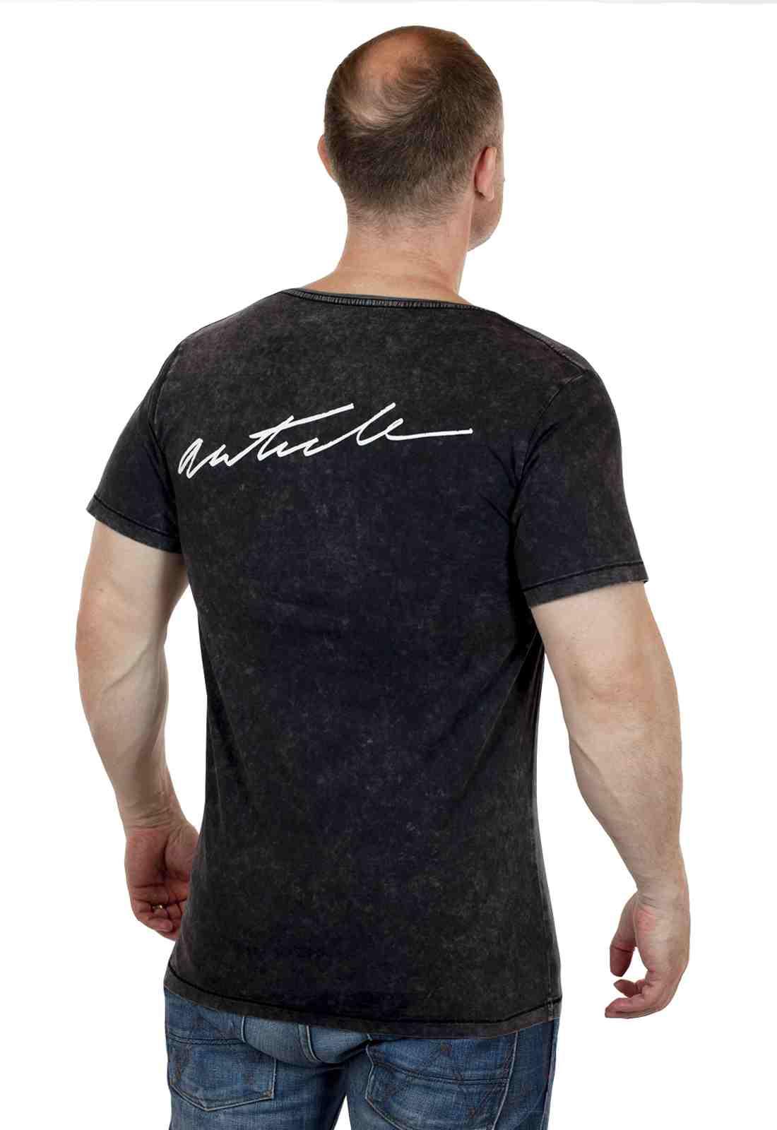 Дизайнерская мужская футболка ARTICLE-сзади