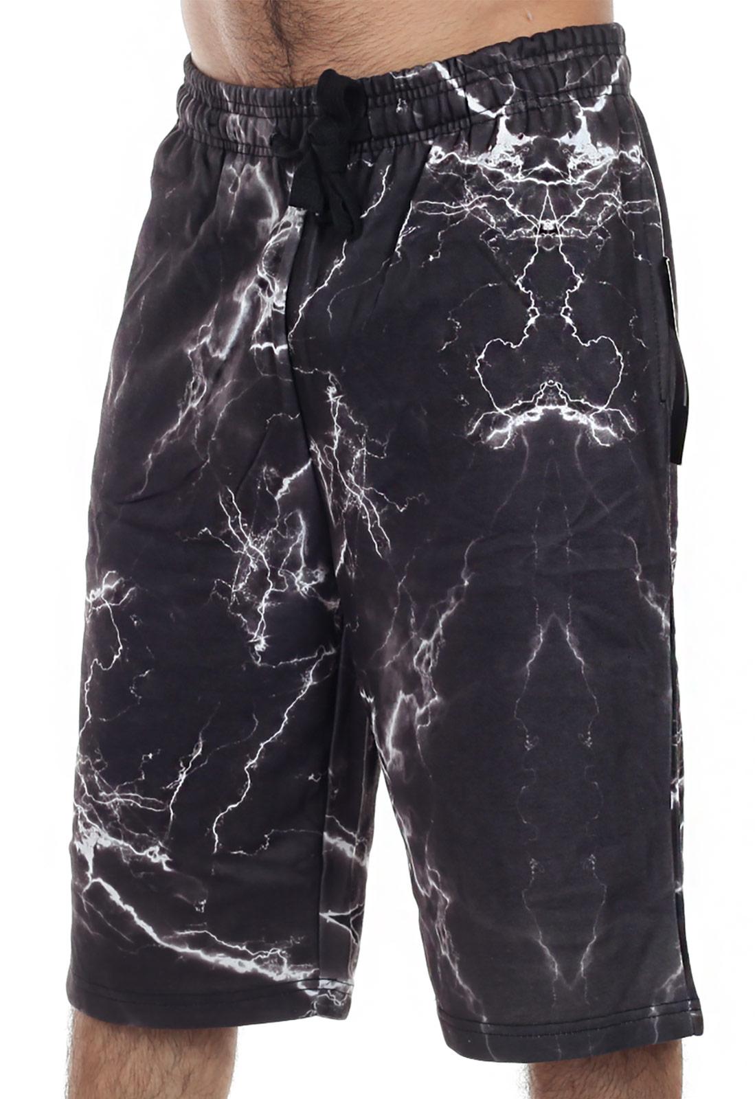 Дизайнерские мужские шорты на флисе от ТМ Vibes Gold Jogger.