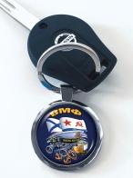 Дизайнерский двухсторонний брелок ВМФ