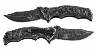 Дизайнерский нож Dark Side Blades Spring Assisted DS-A058 Black (США)