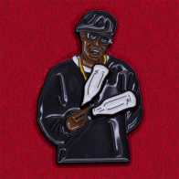 Дизайнерский рэпперский значок Puff Daddy для любителей хип-хопа от Good Hustle Co
