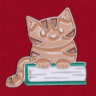 Дизайнерский значок для любителей котов от Doodle Cats