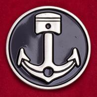 """Дизайнерский значок для сильных духом """"Якорь и поршень"""" от Iron & Resin"""