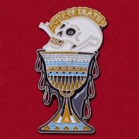 """Дизайнерский значок с черепом """"Чаша смерти"""" от Rolling Death Maui"""